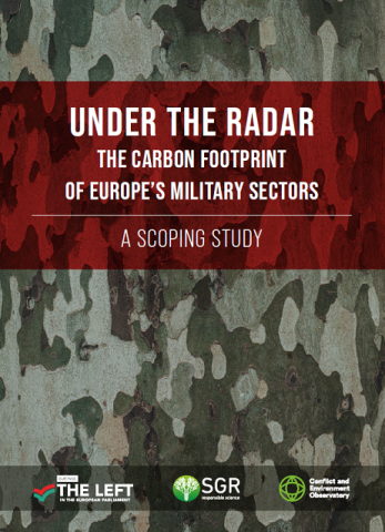 EU military carbon report cover