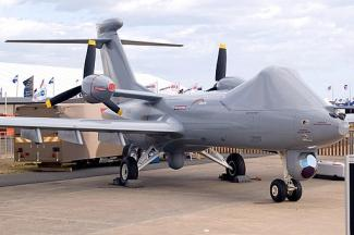 BAE Systems Mantis - protoype armed drone (credit: Robert Frola)