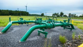 Marcellus shale gas pipeline