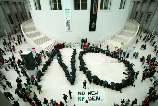 No new BP deal protest